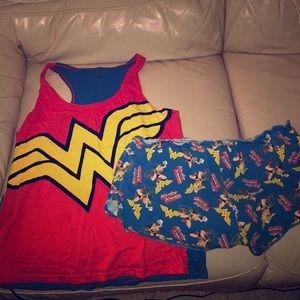 Wonder Woman PJ set
